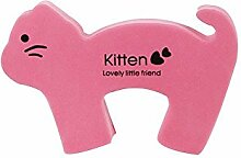 5Pcs Lovely Pink Cat Dekoration Türschild Türstopper / Halter