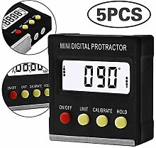 5Pcs Magnetic elektronische Wasserwaage Box,
