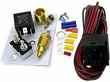 5pin Relais Set 200-185Grad Thermostat Ventilator