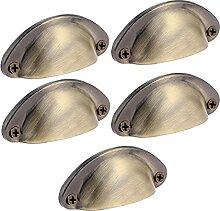 5sets Mini Muschelform Griff Griffe Antik
