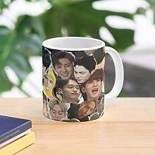 5TheWay Face Meme Collage Exo Mug Best 11 oz