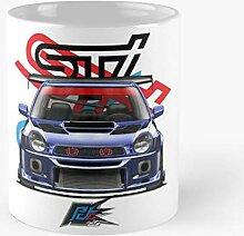 5TheWay Impreza Mug Blue Sti WRX Bugeye Subaru