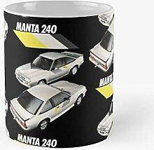 5TheWay Opel Manta Mug Best 11 oz Kaffeebecher -