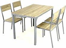 5tlg Küchenset Esszimmerset Sitzgruppe Essgruppe