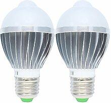 5W E27 LED Lampe mit Bewegungsmelder,PIR Sensor