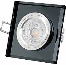 5W Glas LED Einbauleuchte 230V - Decken-Leuchte