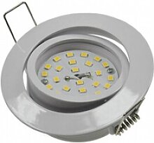 5W LED Downlight Flat-32 warmweiß 420lm weiß