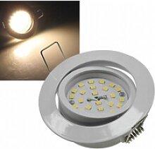 5W LED Downlight Flat-32 warmweiß 470lm weiß EEK