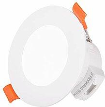 5W LED Einbauleuchte Einbaustrahler Decke Lampe