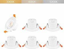 5W LED Einbaustrahler Einbauleuchten Decke Lampen