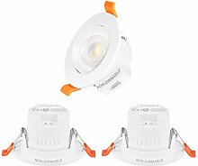 5W LED Strahler Einbau Decke Lampen Einbaustrahler