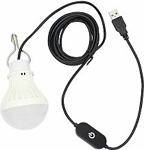 5W USB Dimmable LED Lampe Birne,für Camping,