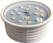 5x 5W Slim LED Einbauleuchte Kaltweiß 400lm 20mm
