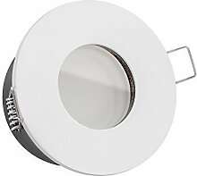 5x dimmbare, ultra flache 35mm LISTA AQUA Bad LED
