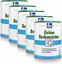 5x Dr. Becher Grüne Beckensteine für Urinale 35 stk.