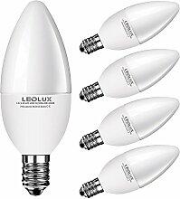 5x E14, LED E14, LED lampe E14, 8W Warmweiss, 790
