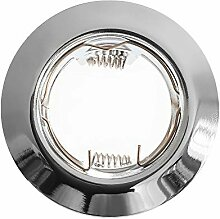 5x Einbaurahmen Einbau-Strahler inkl. 5x GU10