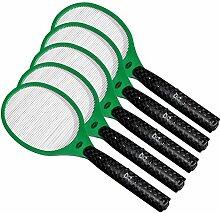5x Globol Elektrische Fliegenklatsche - Einfach und sicher gegen fliegende Insekten