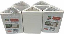 5x Keramik Luftbefeuchter, Heizung Wasser, Heizkörper Verdunster, Raumbefeuchter Verdampfer, Wasserverdunster
