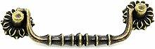 5x Klapp-Möbelgriff, Schubladengriff, Schrankgriff, Retro Antikdesign 8,0 x 2,5 cm
