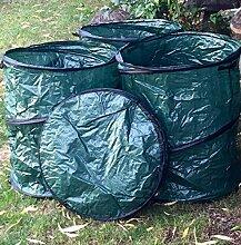 5x Laubsack Gartentasche 160 L Gartensack