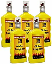 5x Ölofen-Anzünder TILL á 200ml = 1 Liter