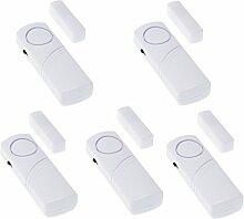 5X Türalarm Fensteralarm Alarmanlage Sirene Alarm