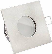 5x ultra flache 35mm LISTA AQUA LED Einbaustrahler