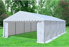5x10 m Partyzelt, Lagerzelt Giant Professional PVC