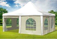 5x5 m Pavillon ARABICA PVC 400 g/m² - wasserdicht