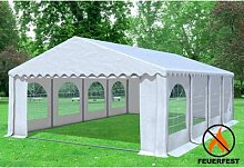 5x8 m Partyzelt Giant Prof+FR PVC 550 g/m² -