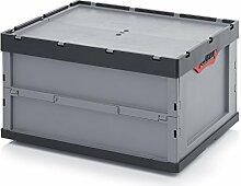 5xProfi-Faltbox mit Deckel Auer 188 Liter | FBD