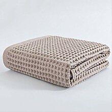 5YTR Reine Baumwolle Badetuch Japanische Wafg