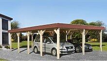 6.2 m x 8.3 m Carport Weka