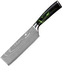 6,5 Zoll Gemüse Küchenmesser Laser Muster 4Cr13