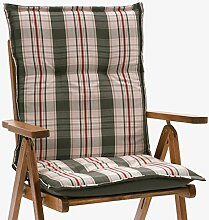 6 Auflagen fuer Niederlehner Sessel 103 x 52 cm Miami 90544-710 in grau (ohne Stuhl)