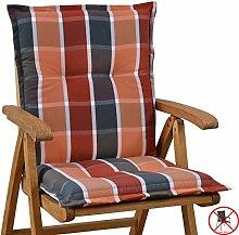 6 Auflagen fuer Niederlehner Sessel 103 x 52 x 8 cm Miami 10438-310 (ohne Stuhl)