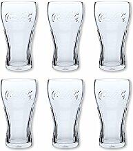 6 COCA-COLA SOFTDRINK LONGDRINK GLAS 0,3l GLÄSER