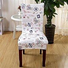 6Esszimmerstuhl Stretch Spandex Bezüge Stuhl Sitz Displayschutzfolie Bettüberwurf Dekor Neu Colour 12