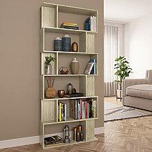 6 Etagen Bücherregal, Büroregal, Raumteiler,