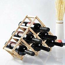 6 Flaschen Weinregal Arbeitsplatte,