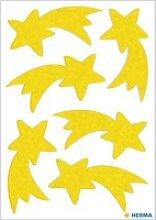 6 HERMA Aufkleber 15251 Sterne