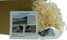 6. Jahrestag You Are My Rock Geschenkidee–massivem Metall schwere poliert Rock Geschenk für 6Jahre Jubiläum