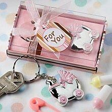 6 Kinderwagen-Design-Schlüsselanhänger