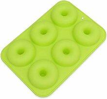 6-Loch-Backform, Silikon-Donut-Backblech DIY Mini