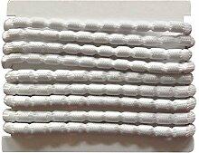 6 m Bleiband 85g/m zur Beschwerung von Gardinen