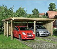 6 m x 5 m Carport Weka Mit Dachplatten: Ja