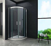 6 mm Duschkabine Duschabtrennung Eck-Dusche