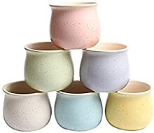 6 Pack Keramik Blumentopf Sukkulente Pflanze Topf