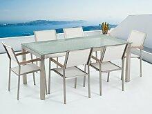 6-Sitzer Gartengarnitur Maxton Ebern Designs